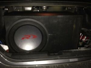 Alpine type r 15 in ported box