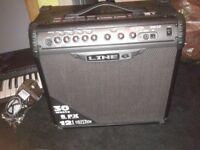 Line 6 30 watt guitar amp like new