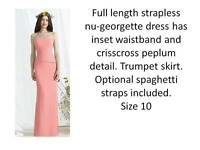 Occasion/Bridesmaids Dress in pink -Dessy