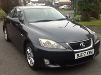 Lexus IS 220 d se 2007 grey alloys keylessgo x2 key fobs