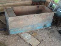 Antique pine kist coffee table project