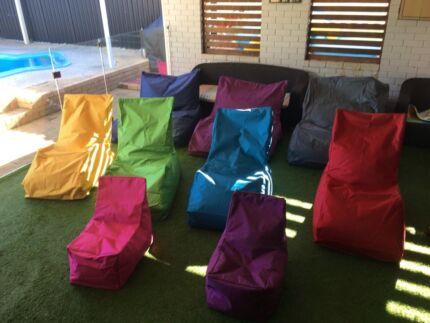 Outdoor weatherproof Beanbags