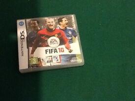 FIFA 10 Nintendo ds game
