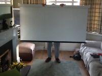 Projector slide/film screen