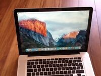 MACBOOK PRO 15 INCH i7 OSX Yosemite 10.10.5 FREE UPGREAT YEAR 2010 EXCELLENT CONDITION SUPPE FAST