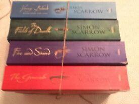 Simon Scarrow 4 paperbacks