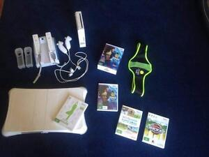 Wii console + games including Wii Fit and Zumba Beaconsfield Upper Cardinia Area Preview