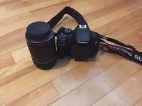 Canon 700D SLR camera body + lense