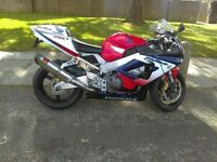Honda fire blade cbr swap/sale