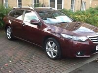 2011(61 Honda Accord Estate Diesel Top Spec model,FSH&Mot,Full leather