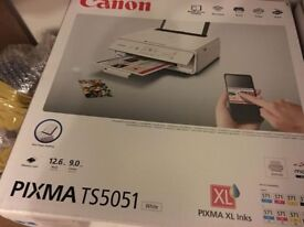 BRAND NEW BOXED Canon Pixma TS5051 All in One Wireless Printer NEVER USED !!!
