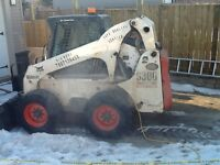 PIERCEY BOBCAT SERVICES - SNOW REMOVAL &  FENCES SHEDS GARAGES