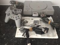 SONY PlayStation Console with 5 games £40