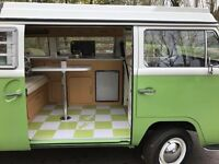 VW T2 westfailia Early Bay Camper Van