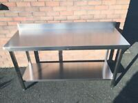 Stainless Steel Tables - Catering Equipment