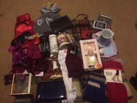 everything to go! UNUSED socks, hat gloves, scoobydoo, Balis & Harding floral fairylights, moneybox