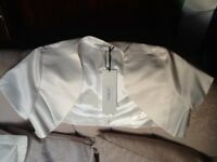 Beautiful Ivory wedding bolero, new with tag, size 12, by BHS