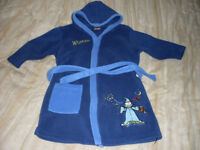 Boys hooded dressing gown