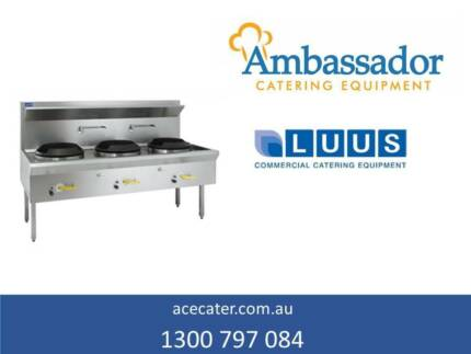 Luus Essentials Series Waterless 3 Hole Wok WL-3C