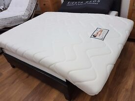 Double memory foam mattresses to clear