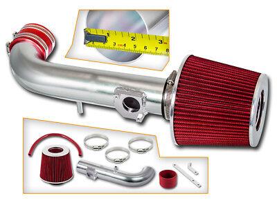 Bcp Red 2000 2001 2002 Corolla 1 8 1 8L Short Ram Air Intake   Filter