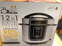 Electric pressure cooker, digital pressure King pro 12 in 1