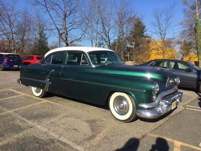 1953 Oldsmobile Eighty-Eight 4 Door Sedan Gorgeous Black 1953 Oldsmobile 88 2 Door Sedan / VG - Excellent