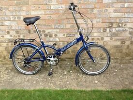 RALEIGH FOLDING BICYCLE FOR SALE