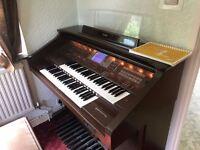 Yamaha Organ Artist AR100 with stool