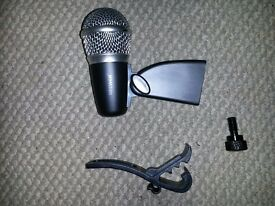 NW-7A Drum Microphone & Clamp (Free P+P)