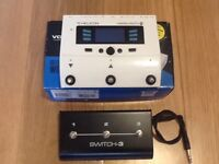 TC Helicon Voicelive Play GTX +Switch 3 V-VGC Harmony / Looper / Guitar FX / USB audio interface
