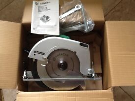 NEW HITACHI CIRCULAR SAW