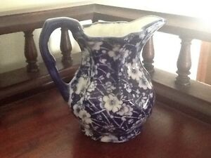 BLUE AND WHITE MILK JUG IN NEW CONDITION Richardson Tuggeranong Preview