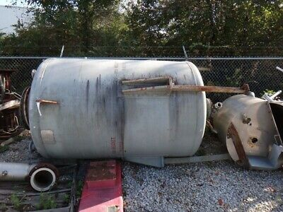 1338 Galllon 304 Stainless Vertical Pressure Vessel Tank
