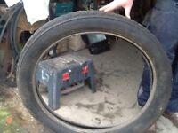 Dunlop cord tyre 8.75X 105