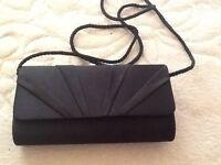 M&S black clutch