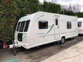 2011 Bailey Olympus 534 4 Berth caravan FIXED BED,MOTOR MOVER, Awning VGC Bargain !!! January Sale