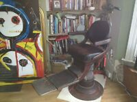 Dentists Chair - Victorian Hydraulic Steam Punk Style