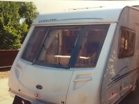 Caravan. 2Berth Stirling Eccles Amber