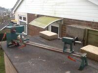 Tyme Avon Woodturning Lathe 250 volt single phase.