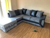 NEXT DAY DELIVERY-- AMAZING BRAND NEW DINO CORNER SOFA AVAILABLE IN 3+2 SOFA SET
