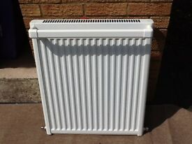Bathroom Radiator With Towel Rail. Colour White.