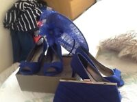 Mother of the Bride Jaques Vert hat shoes and bag