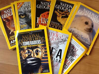 National Geographic Magazines 2004 - present: FREE