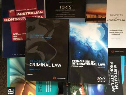 Assorted Law Text Books Adelaide Region Preview