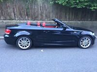BMW 118i M3 CONVERTIBLE WITH RED LEATHER INTERIOR 9 MONTH MOT PLUS WARRANTEE (Imaculate Condition)