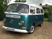 """Jezebel"" - 1972 Devon Early Bay VW Camper Van - In very good condition, ready to drive away"