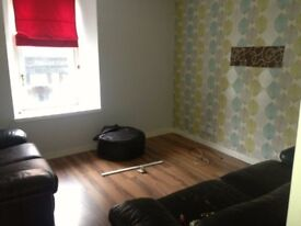 Dont delay! Two bedroom Troon Centre flat available