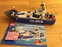 LEGO CITY POLICE BOAT, NO 7287