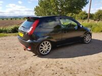 Ford Fiesta st 07 plate